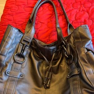 Brown/metallic purse